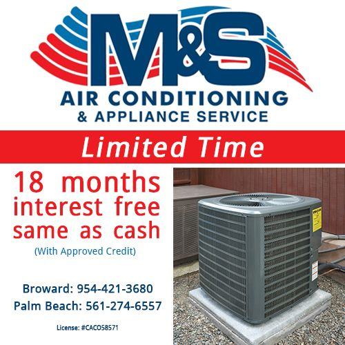 Air Conditioning Deerfield Beach FL Ductless Mini-Split AC System 18 months